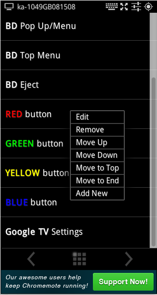 Edit Scroll Button List 159x300 Update: Chromemote v.0.1302.28 Changes